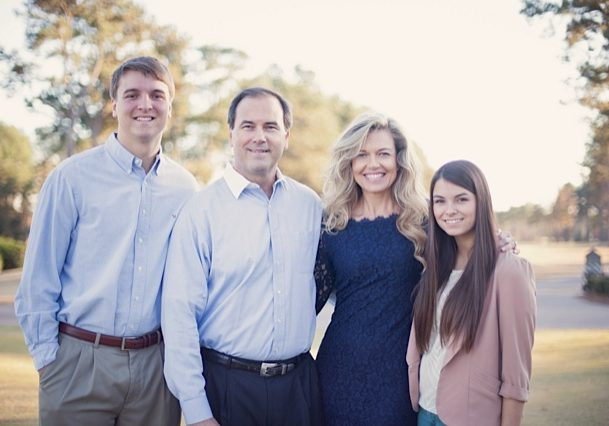Click on image to learn more about our story.  Our Family - Austin, Russ, Danielle and Chandler